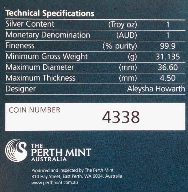 2013 Australian Opal Series Pygmy Possum 1oz Silver Proof Coin
