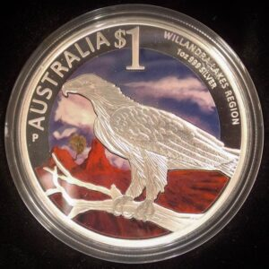 2013 World Heritage Sites - Willandra Lakes Region 1oz Silver Coin