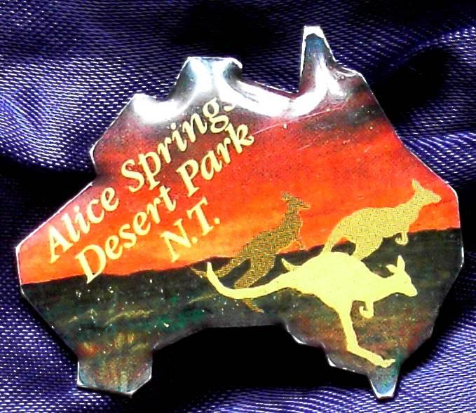 Alice Springs - Desert Park - Enameled Metal Pin