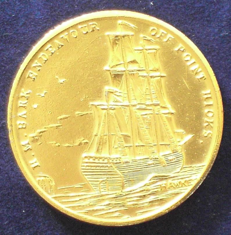 Australia 1770-1970  James Cook Bicentennial Token