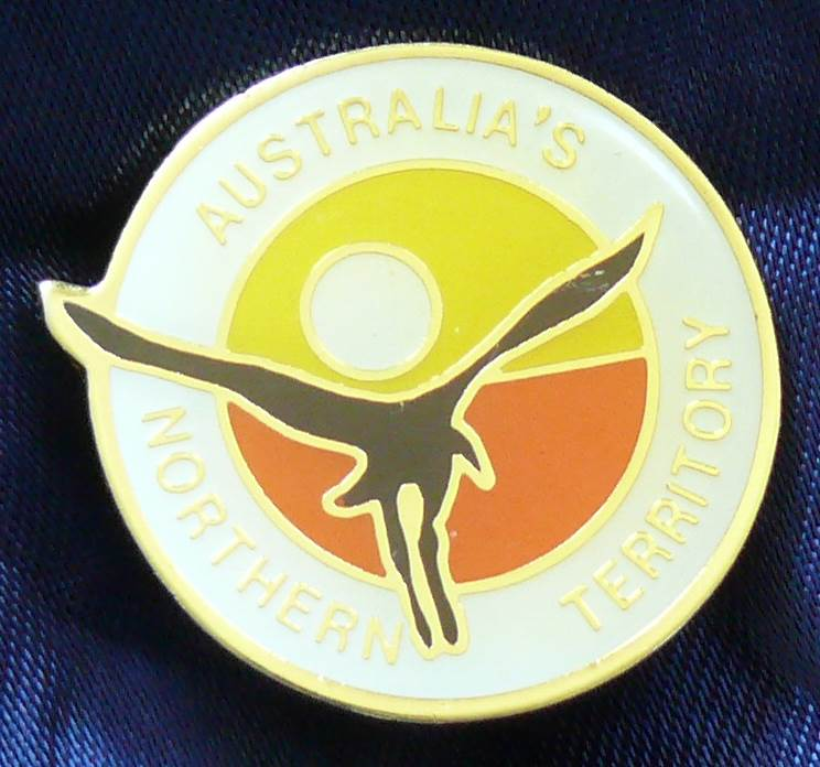 Australia Northern Territory Enamel Metal Pin