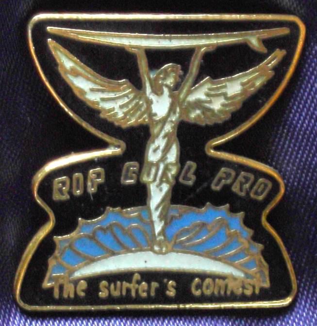Australia Rip Curl Pro Surfing Metal Pin