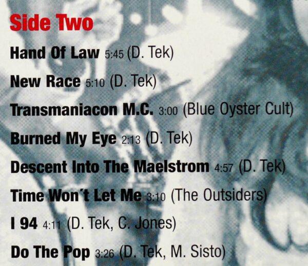 Radio Birdman Euro Blue Wax Limited Edition - 201/500