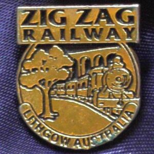 Zig Zag Railway  - Lithgow - Metal Pin