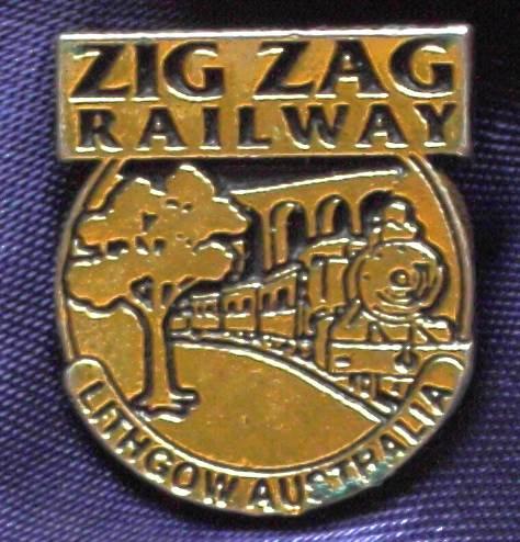 Zig Zag Railway  - Lithgow - Metal Pin