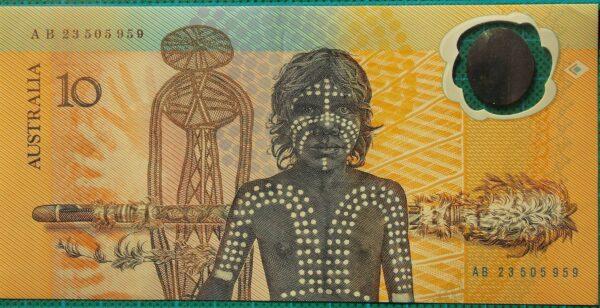 1988 Australia Ten Dollars Bicentennial AB23 50
