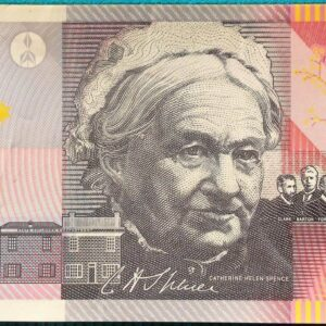 2001 Five Dollars Centenary of Federation EB01