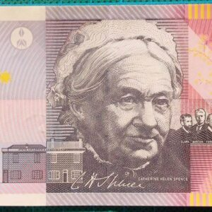 2001 Five Dollars Centenary of Federation FA01