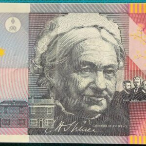 2001 Five Dollars Centenary of Federation GL01