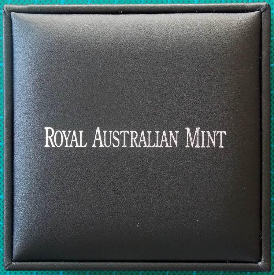 2014 Australia 1 oz Silver Koala Road Sign Coin