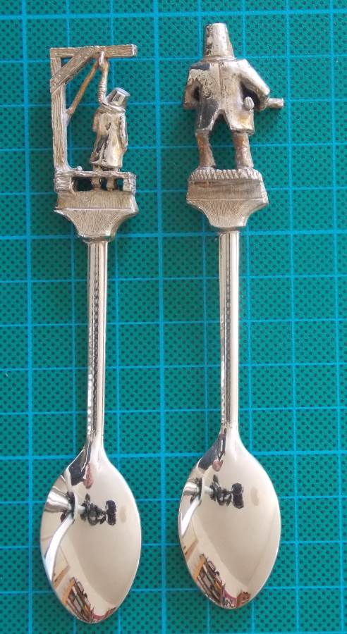 NED KELLY SOUVENIR SILVER PLATED SPOONS