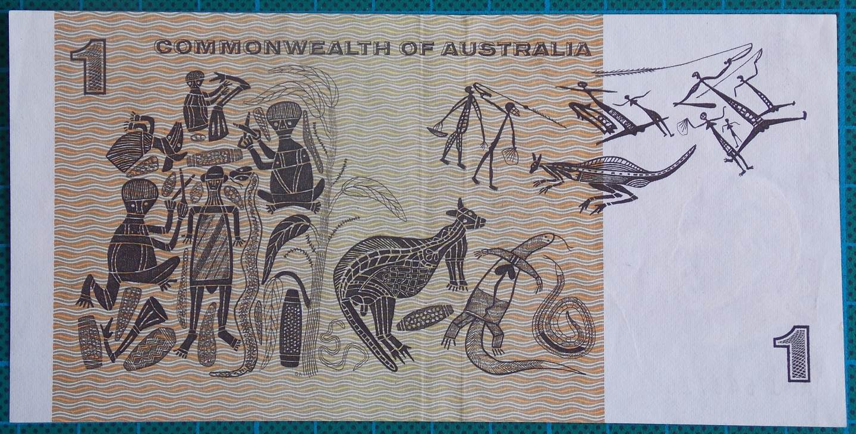 1969 Australia One Dollar Note APJ