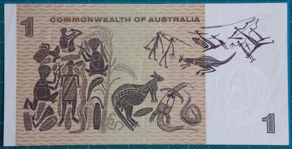 1972 Australia One Dollar Note - BGJ