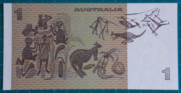 1977 Australia One Dollar Note - DEL