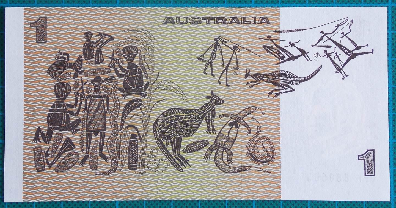 1982 Australia One Dollar Note DPK88