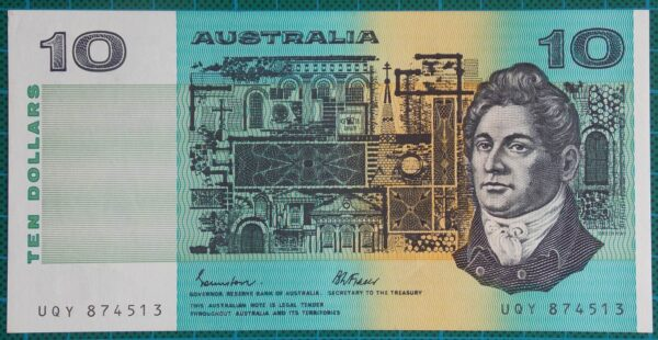 1985 Australia Ten Dollars - UQY