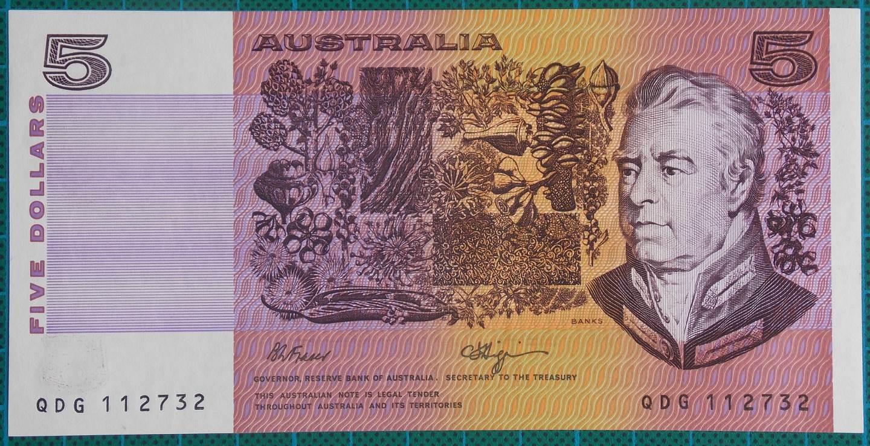 1990 Australia Five Dollars - QDG