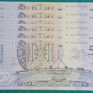 1993 Australia Five Dollars Polymer - CF 93x6