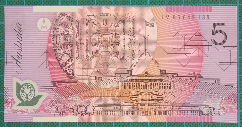 1995 Australia Five Dollars Polymer - IM95