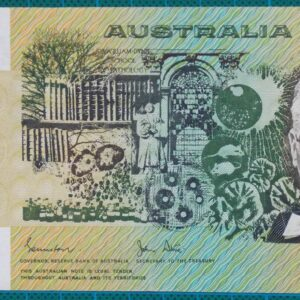 1983 Australia Fifty Dollars YHJ First Prefix