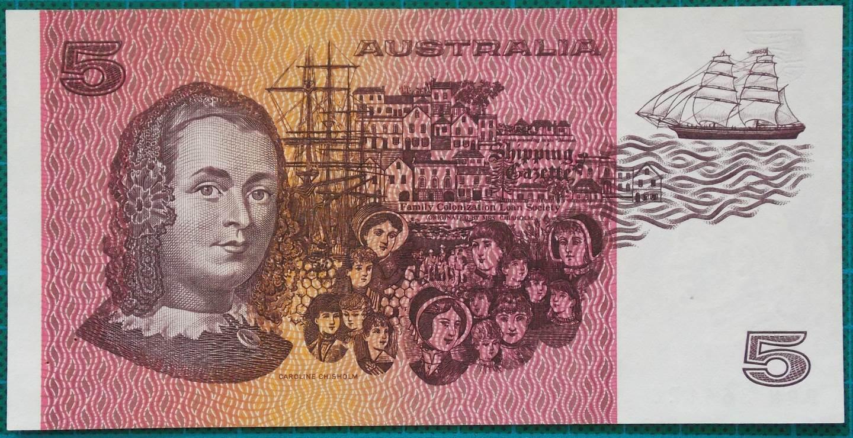 1985 Australia Five Dollars - PPN
