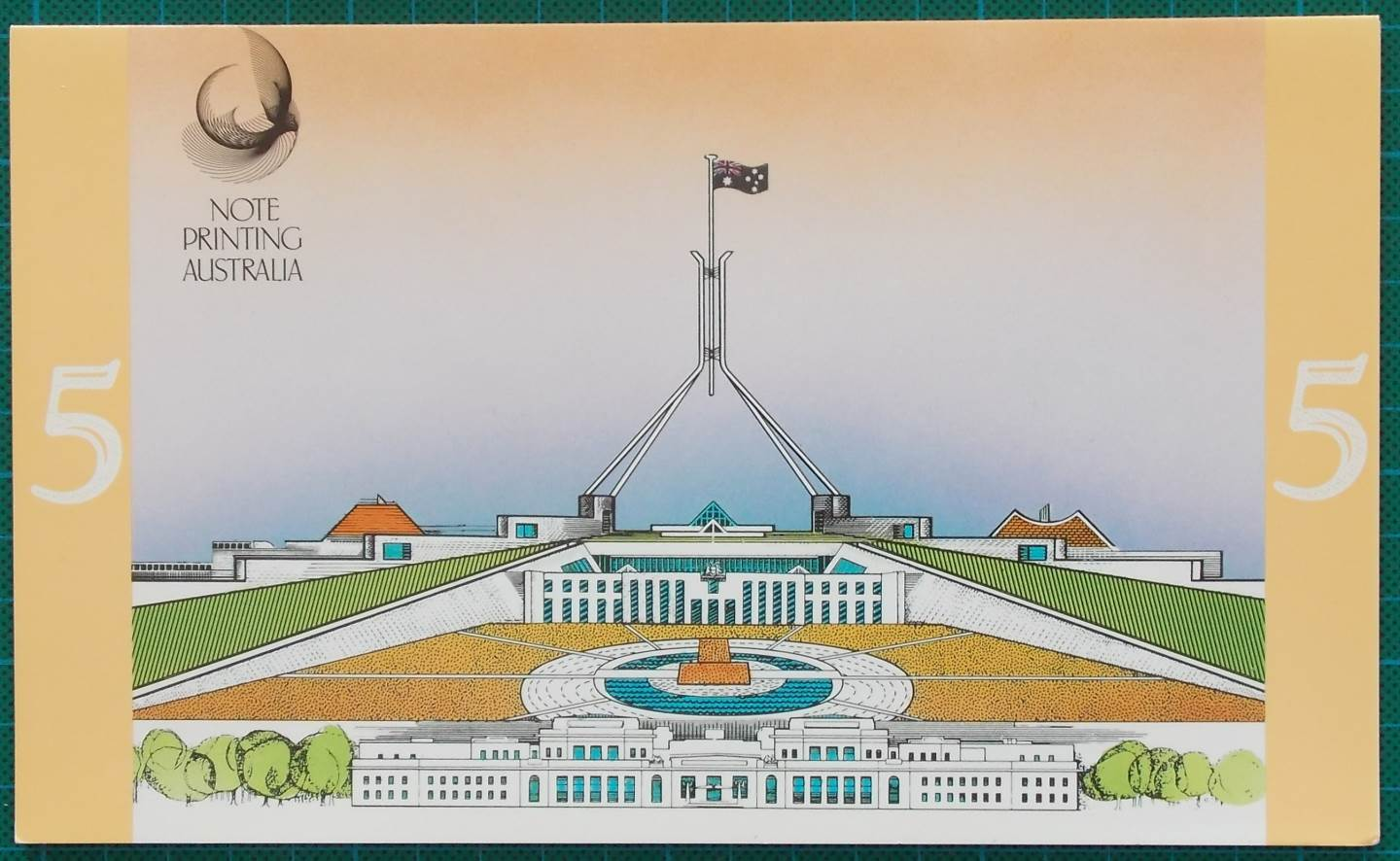 1991-2 $5 Australia Last and First NPA Folders