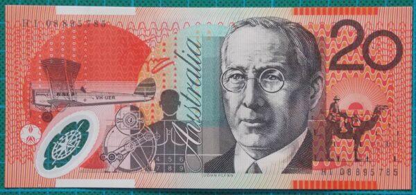 2008 Australia Twenty Dollars - HI08
