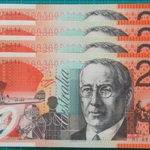 2008 Australia Twenty Dollars - HI08 x4