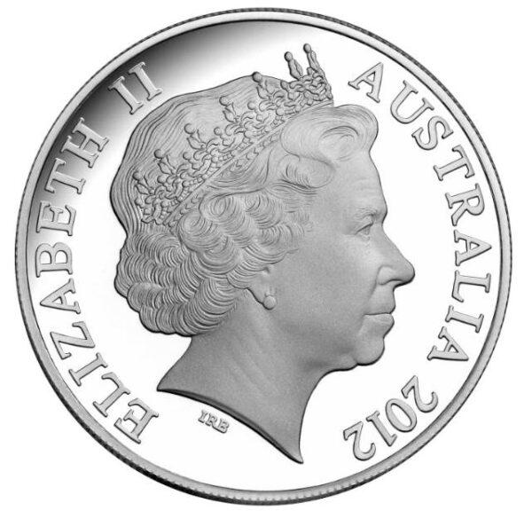 2012 Mareeba Rock Wallaby Silver 1 oz Proof Coin Colourised