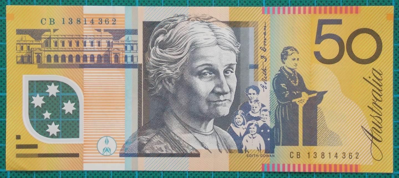 2013 Australia Fifty Dollars CB13814362