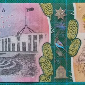 2016 Australia Five Dollars Next Generation First Prefix AA16 -1