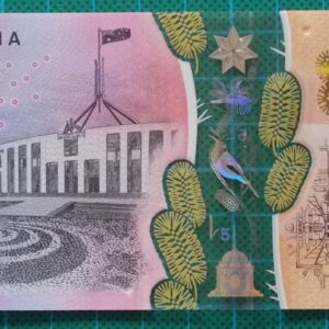 2016 Australia Five Dollars Next Generation First Prefix AA16 -2