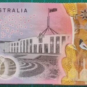 2016 Australia Five Dollars Next Generation First Prefix AA16 x 5