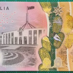 2016 Australia Five Dollars Next Generation First and Last Prefix AA-EJ -1