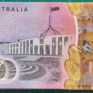 2016 Australia Five Dollars Next Generation First Prefix AA16 x 5 - 2