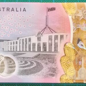 2016 Australia Five Dollars Next Generation First Prefix AA16 x 5 - 3