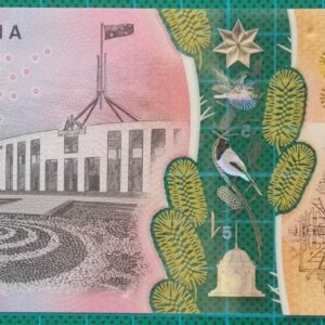 2016 Australia Five Dollars Next Generation Banknote AJ16