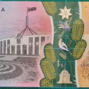 2016 Australia Five Dollars Next Generation Banknote BG16
