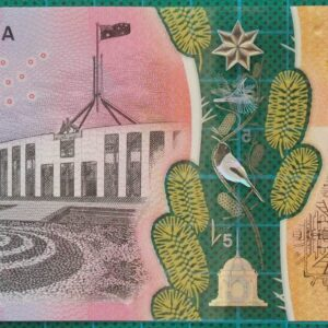 2016 Australia Five Dollars Next Generation Banknote BH16