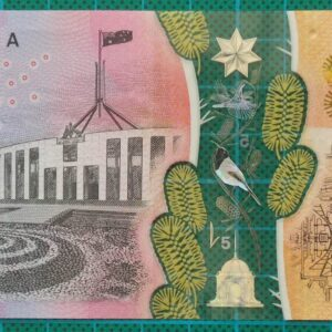 2016 Australia Five Dollars Next Generation Banknote CE16