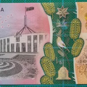 2016 Australia Five Dollars Next Generation Banknote DF16