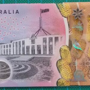 2016 Australia Five Dollars Next Generation Banknote EB16x3