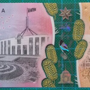 2016 Australia Five Dollars Next Generation Banknote EE16
