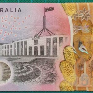 2016 Australia Five Dollars Next Generation Last Prefix EJ16 x 4