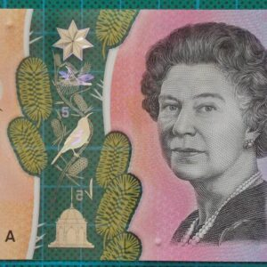 2016 Australia Five Dollars Next Generation Banknote AE16