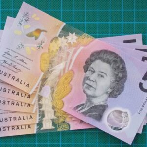 2016 Australia Five Dollars Next Generation Last Prefix EJ16 x 5